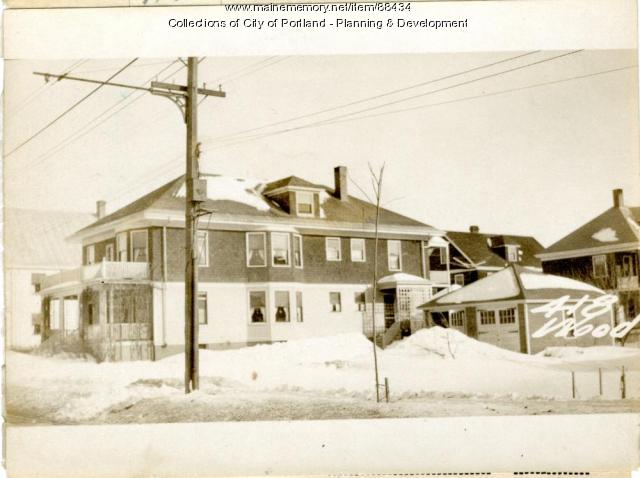 418-420 Woodford Street, Portland, 1924