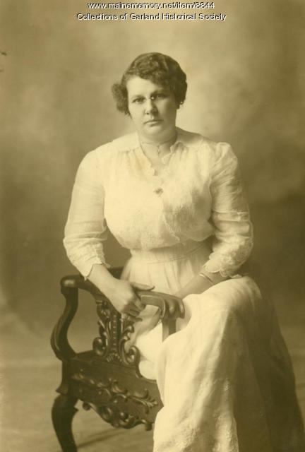 May Dubuque, Garland, ca. 1920
