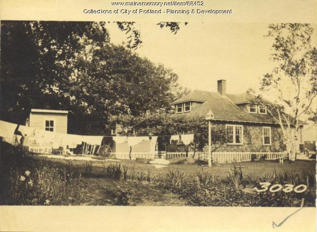 Wilkie property, Cliffstone Road, Little Diamond Island, Portland, 1924