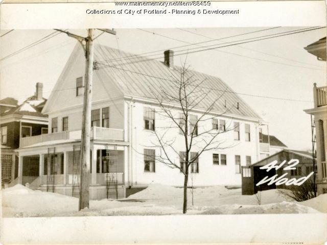 412-414 Woodford Street, Portland, 1924