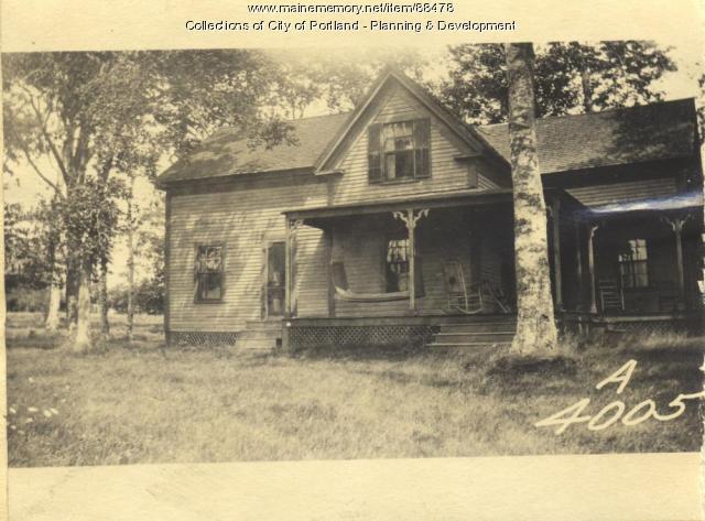 Mary Mason Residence, Little Chebeague Island, Portland, 1924