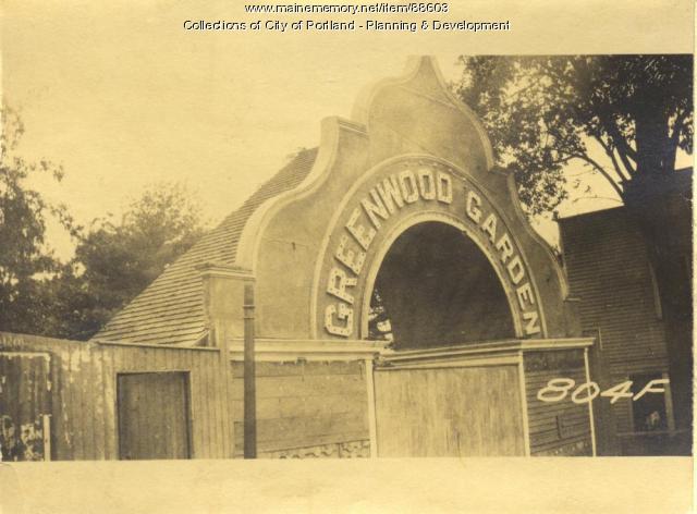 Ticket Office, Greenwood Gardens, Portland, 1924