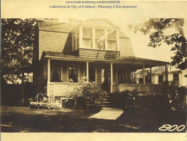 Coburn property, S. Side Greenwood, Peaks Island, Portland, 1924