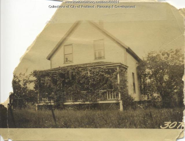 Speed property, S. Side Elizabeth Street, Peaks Island, Portland, 1924