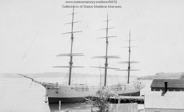 Ship ARYAN, Phippsburg, 1893