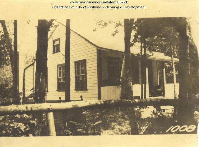 N. Side Property Fourth Street, Peaks Island, Portland, 1924