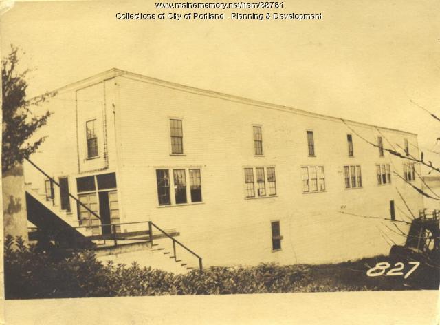 Rounds property, Island Avenue, Peaks Island, Portland, 1924