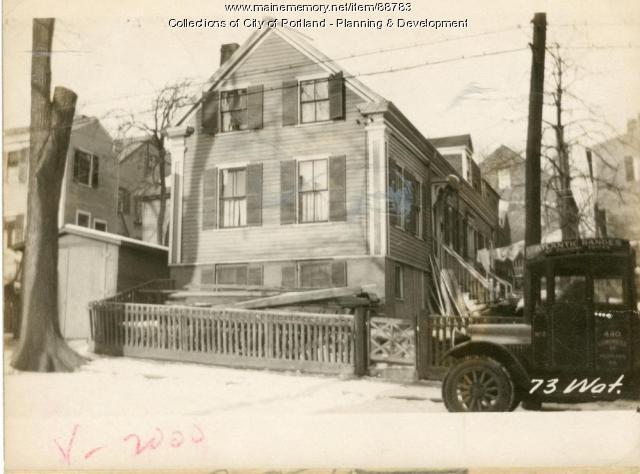 73 Waterville Street, Portland, 1924