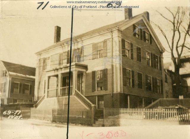 67-69 Waterville, Portland, 1924