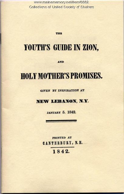The Youth's Guide in Zion, 1842