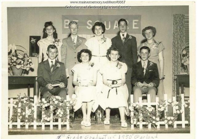 Eighth Grade Graduation, Garland, 1950