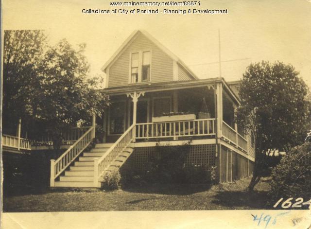 Dunham property, E. Side First Street, Pleasant Avenue, Peaks Island, Portland, 1924