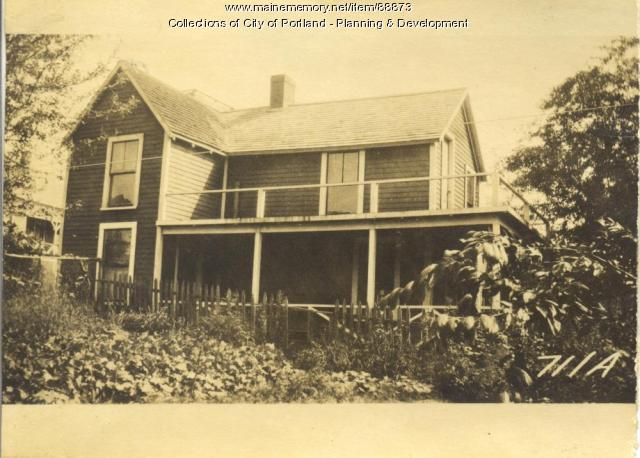 Pratt and House & Home Company property, N. Side Epps Street, Peaks Island, Portland, 1924