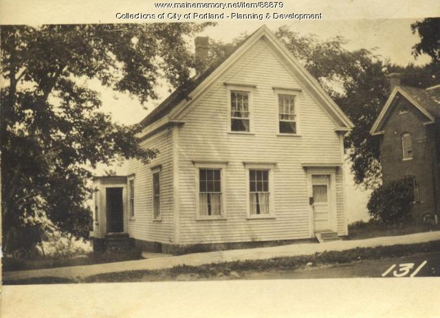 Randall property, W. Side Island Avenue, Lot 17, Peaks Island, Portland, 1924