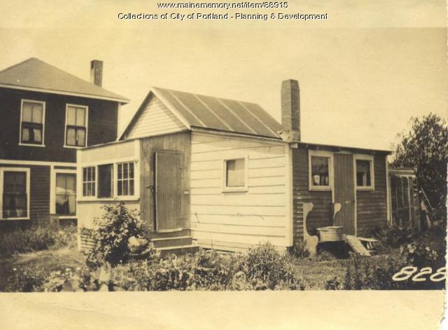 N. Side Property Fifth Street, Peaks Island, Portland, 1924