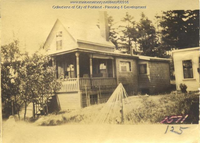 Fairfield property, N. Side Island Avenue, Peaks Island, Portland, 1924