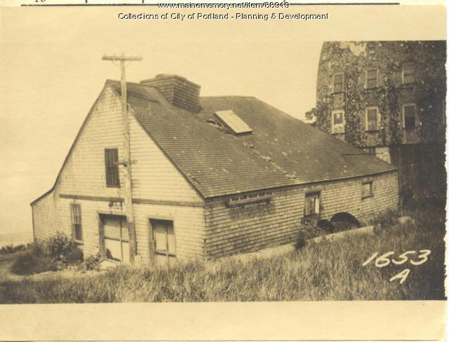 Power Plant, Island Avenue, Portland, 1924