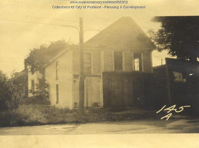 Portland Investment and Improvement Company property, E. Side Island Avenue, Peaks Island, Portland, 1924