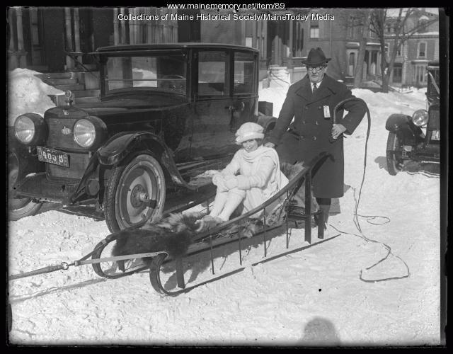 Winter carnival, Portland, 1924
