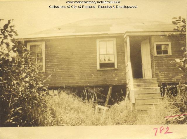 N. W. Side Property First Street, Peaks Island, Portland, 1924