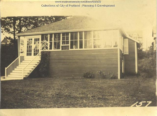 McVey property, N. Side Island Avenue, Lot 95, Peaks Island, Portland, 1924