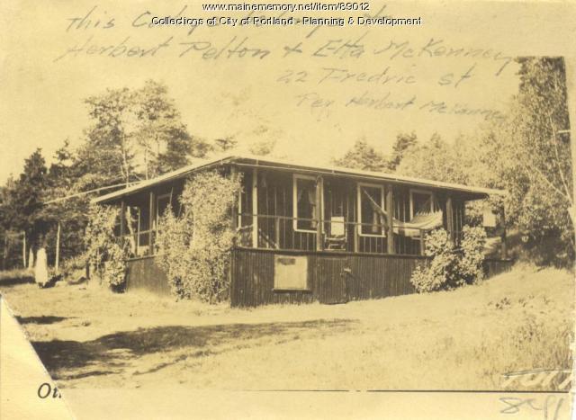 McKenney property, Rockbound Park, Peaks Island, Portland, 1924