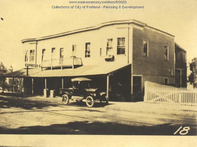 Maggie B. Johnstone Heirs property, W. Side Island Avenue, Peaks Island, Portland, 1924
