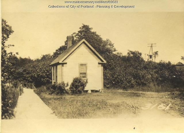 Portland Water District property, Great Diamond Island, Portland, 1924