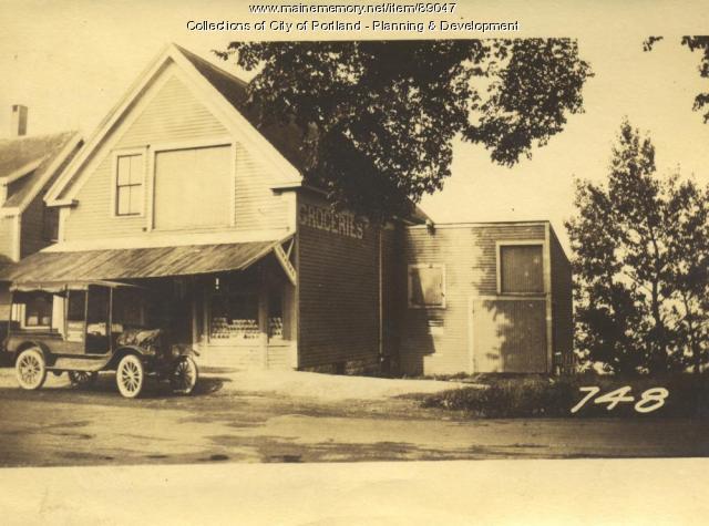 Files property, Island Avenue, Lot 91, Peaks Island, Portland, 1924