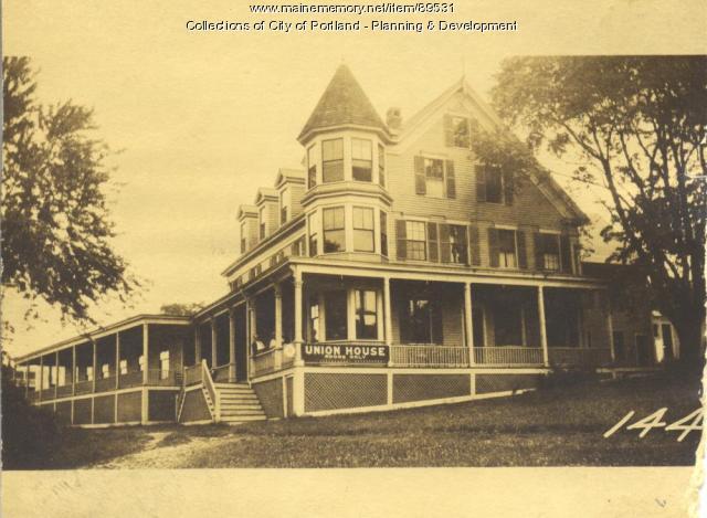 Plummer property, W. Side Island Avenue, Peaks Island, Portland, 1924