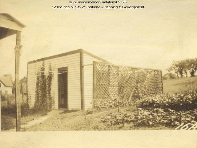 Johnson property, E. side Island Avenue, Peaks Island, Portland, 1924