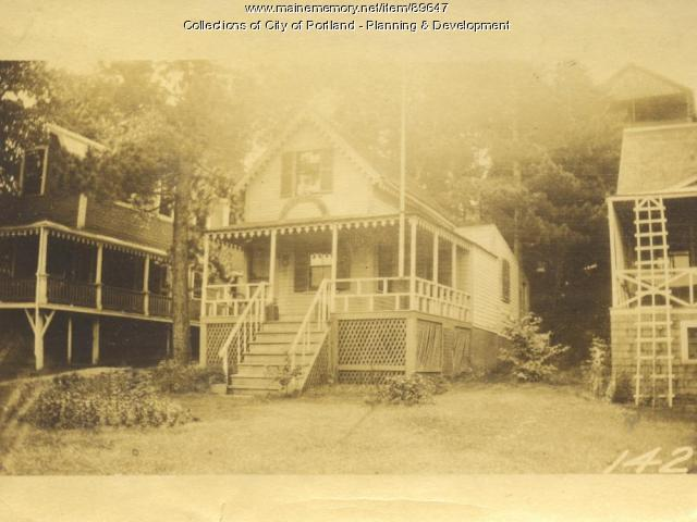 Scribner property, E. side Island Avenue, Peaks Island, Portland, 1924