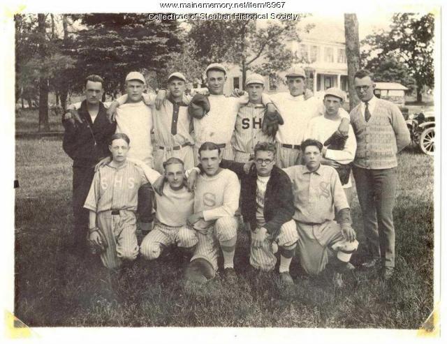 Steuben championship baseball team, 1925-26