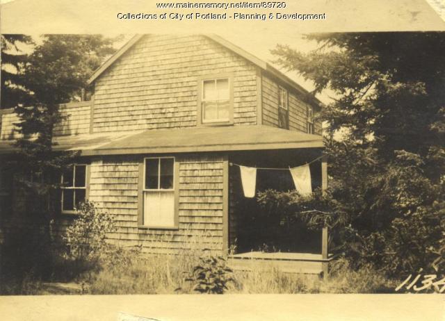 Kimball property, E. side Island Avenue, Peaks Island, Portland, 1924