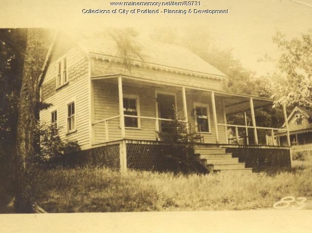 Cook property, E. side Island Avenue, Peaks Island, Portland, 1924