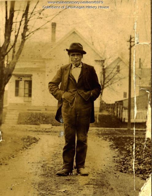Johnny Drinkwine, Skowhegan, ca. 1885