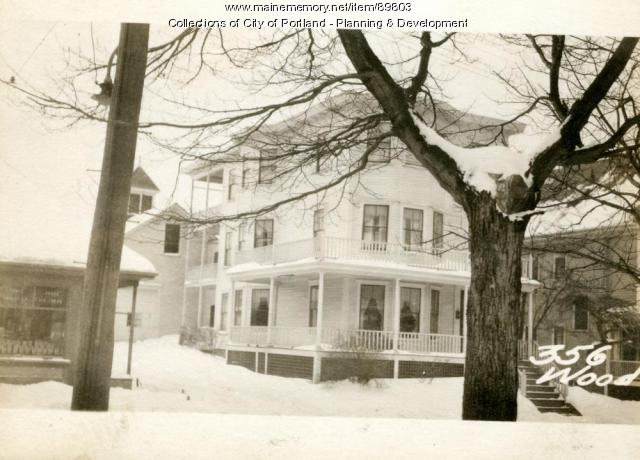 350-356 Woodford Street, Portland, 1924