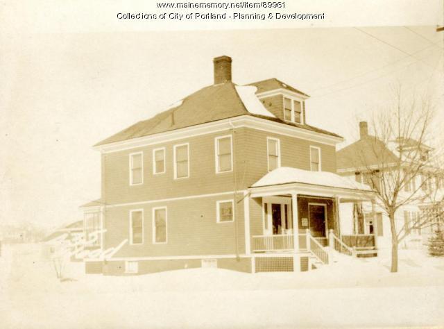 433-435 Woodford Street, Portland, 1924