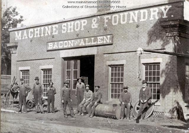The Island Foundry, Skowhegan, ca. 1885