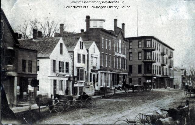 Madison Avenue, Skowhegan, ca. 1875