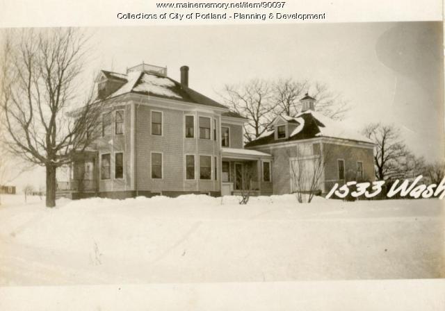 1533 Washington Avenue, Portland, 1924