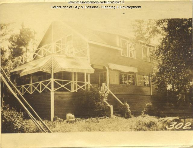 Angier W. Tapley, Widow and Heirs property, Brook Lane, Peaks Island, Portland, 1924