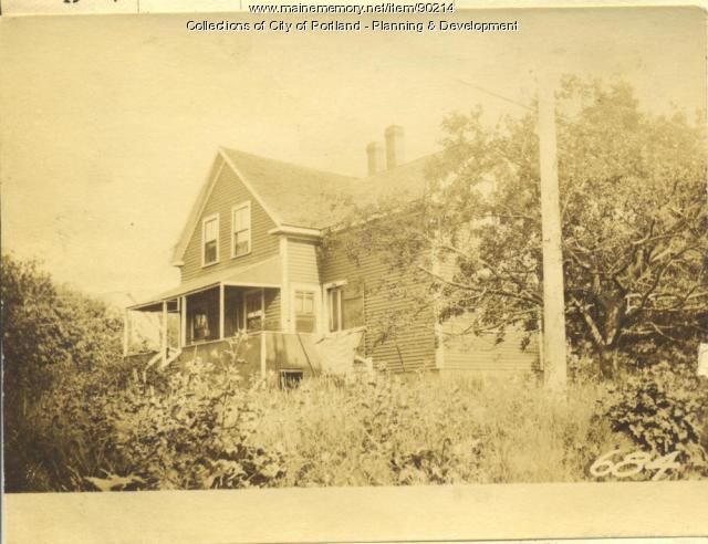 Trott property, E. Side Centennial Street, Peaks Island, Portland, 1924
