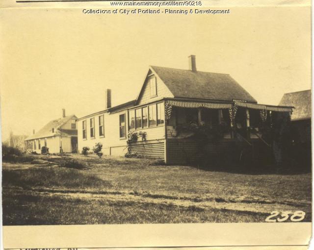 Fogg property, S. Side Welch Avenue, Lot 22, Peaks Island, Portland, 1924