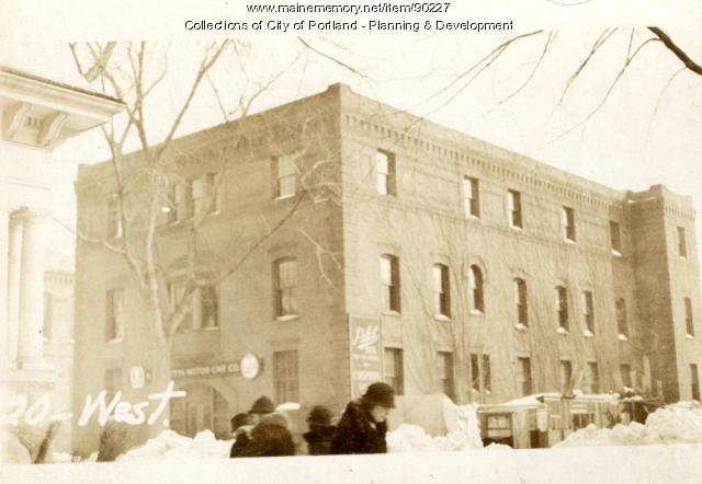 18-22 West Street, Portland, 1924