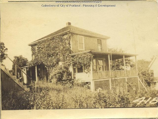 Quint property, City Point Road S. side, Peaks Island, Portland, 1924