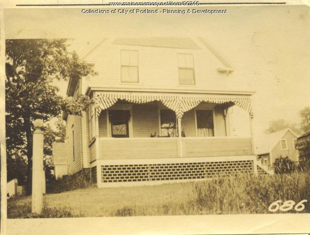 Brewer property, W. Side Centennial Street, Peaks Island, Portland, 1924