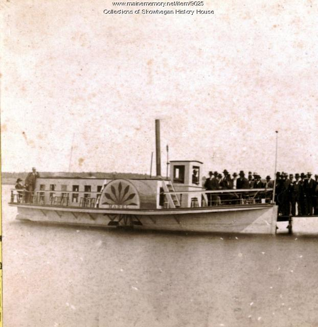 The Steamboat, Lake Wesserunsett, ca. 1884