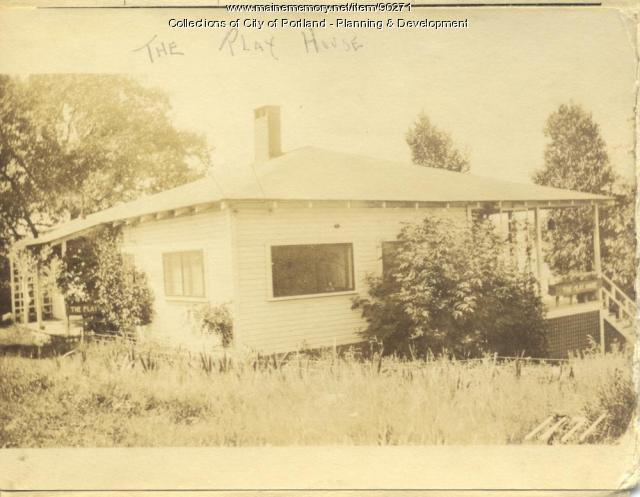 McGregor property, N. E. Side Brooklet Place, Peaks Island, Portland, 1924