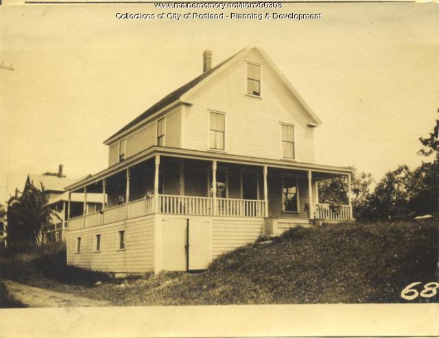 Varney property, City Point Road, Peaks Island, Portland, 1924